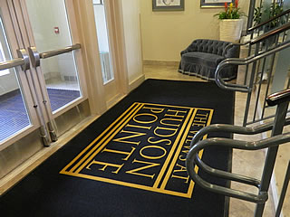Custom Logo Mats Commercial Entrance