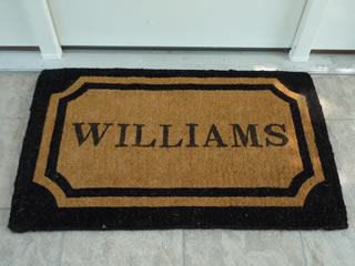 Personalized Doormats And Carpet Mats